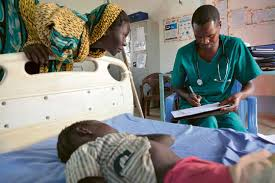 Image result for  large number of Nigerians in hospital waiting for medical care