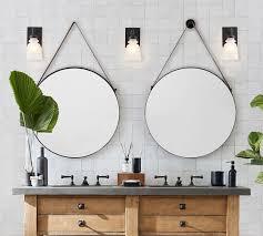Sayer Round Hanging Mirror Pottery Barn