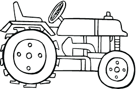 Tractor Coloring Pages Printable Trustbanksurinamecom