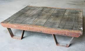 Coffee Table Industrial Vintage Industrial Coffee Table Pallet Industrial Furniture