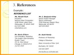 Resume References Example Gorgeous Reference In A Resume Mmventuresco