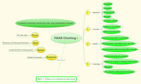 Fdar Charting Xmind Mind Map Template Biggerplate