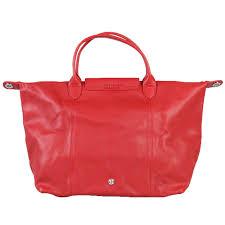 longchamp long champ leather handbag new handbags leather red ref 55951 joli closet