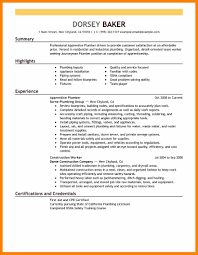 Enchanting Examples Of Tradesmen Resumes Adornment Example Resume