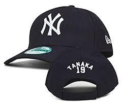 York ����å� Cap 9forty Newera �˥�`��`�� Japanese �� New Yankees ����ѥ˩`�� Player Tanaka Navy Amazon �ץ쥤��` �˥�`���� 19