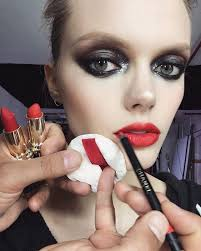 free of michael anthony best beauty looks on insram red lipstick smokey eyes with smokey eyes blu