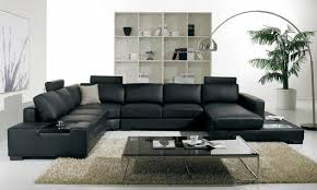 Modern Sofa Set Designs 15 Classy Leather Throughout Design