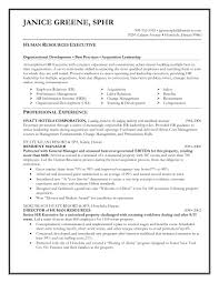 Hr Resume Templates Free 10000 100 Sample Resume For Training Andvelopment Executive 32