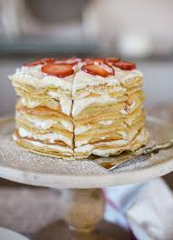 Crepe Cake Recipe With Strawberries Cream Boxwood Avenue