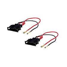 amazon com radio stereo speaker wire harness adapter plug for vw speaker harness honda at Speaker Wire Harness Adapter
