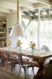 metal farmhouse chairs white table black dining room neutral decor