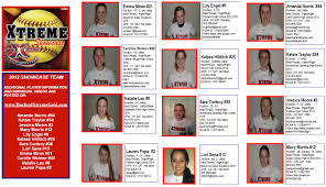 Softball Player Profile Template Player Profile Template Natashamillerweb