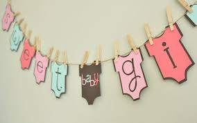 baby shower banners baby shower banner ideas with color papers baby shower ideas gallery
