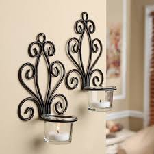 mainstays scroll wall sconce