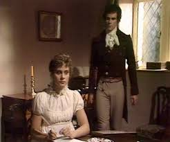 best pride and prejudice images  elizabeth garvie and david rintoul as elizabeth bennet and mr darcy in 1980 masterpiece theater p p