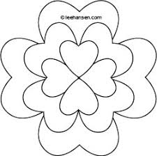 Small Picture Shamrock Design Coloring Page