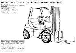 linde sel forklift truck 351 02