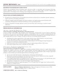 Resume Format For It Manager Sample Resume It Manager Resume Format