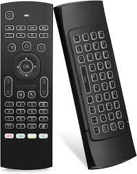 Buy Air Mouse Yalanle MX3 Mini Wireless Keyboard, 2.4G Backlit Fly Air  Mouse Remote Control, Infrared Remote Control Learning Fit Android Smart TV  Box,Xbox 360,PC, PS3,Projector,HTPC,Pad,Notebook etc Online in Taiwan.  B082WCP4W1