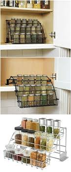 Rubbermaid Coated Wire In Cabinet Spice Rack Awesome Rubbermaid Pull Down Spice Rack Maximize Storage Plus Easy Access