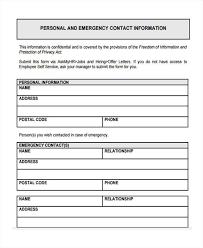 49 Information Sheet Samples