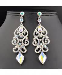 janefashions austrian rhinestone chandelier earrings in women s drop dangle earrings