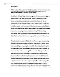 drama essay hedda gabler international baccalaureate languages  page 1 zoom in