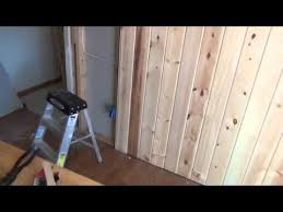 creating a tongue groove accent wall