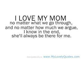 I Love You Mom Quotes Classy Download Love You Mommy Quotes Ryancowan Quotes