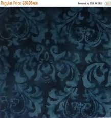 Java Quilt Backs - Blue Damask 108 | 108  wide Quilt backing ... & Clearance SALE Cotton Fabric, Quilt, Quilt Back - 108