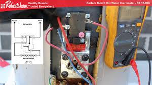 robertshaw surface mount thermostat st12 80k robertshaw surface mount thermostat st12 80k