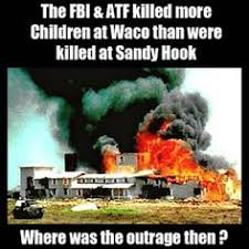 Image result for On April 19, FBI agents attacked the compound, which eventually led to a massive fire that killed an estimated 80 cult members including the leader, David Koresh, and 20 children.