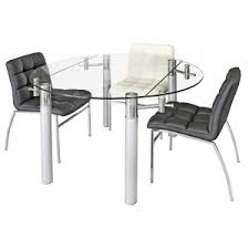 extending glass dining table and chairs. quick view · alicia round extending dining table glass and chairs