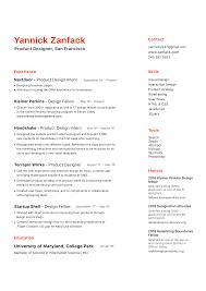 Designers Resume A Ux Designer Resume Hiring Managers Will Love Uxfol Io Blog
