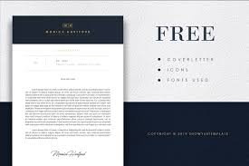 3 Page Elegant Dark Blue Resume Template Cv Template Free