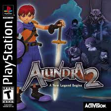 sony playstation 1 games. playstation 1 - alundra 2 sony games