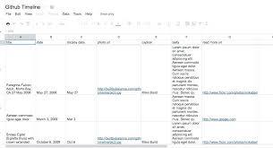 Spreadsheet Timeline Sample Spreadsheet Timeline Google Sheet
