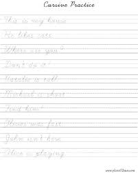 Cursive Writing Practice Worksheets Omegaproject Info