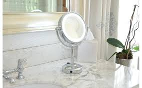 smile 716 battery operated lighted makeup mirror 5x uh oh you forgot yo mama your last minute moms day gift guide original