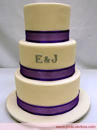 Simple 3 Tier Wedding Cake