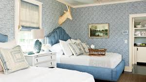 Decorated Light Blue Bedrooms Upholstered Beds Fresh Gracious Guest Bedroom  Decorating Ideas Southern Living