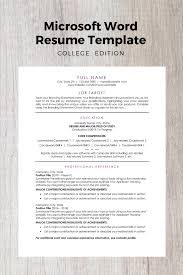 Modern List Of Computer Skills Resume Modern Resume Template College Edition Resume Templates