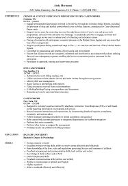 Caseworker Resume Samples Velvet Jobs