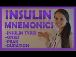 Insulin Onset Peak Duration Mnemonic Types Of Insulin Nursing Nclex Review