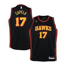 Atlanta Hawks Jordan Statement Swingman Trikot - Clint Capela - Jugendliche
