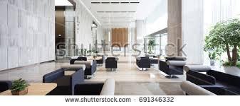 interior modern office. Brilliant Modern Interior Of Modern Entrance Hall In Office Building Inside Interior Modern Office