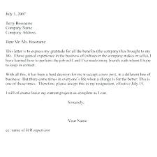One Week Notice Resignation Letter Resignation Letter Template Free Word Format Download