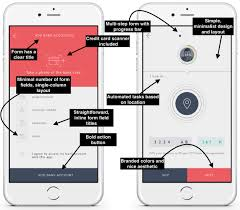 Iphone Form Design Mobile Form Design A Beginners Guide To Converting Mobile Users