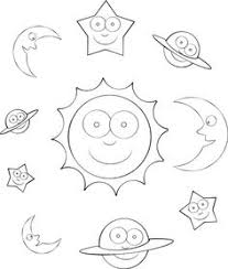 Small Picture Solar System Coloring Pages Worksheets Notebooking Pages Great