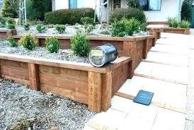 build a wooden retaining wall wood walls ideas gorgeous inspiration timber backyard